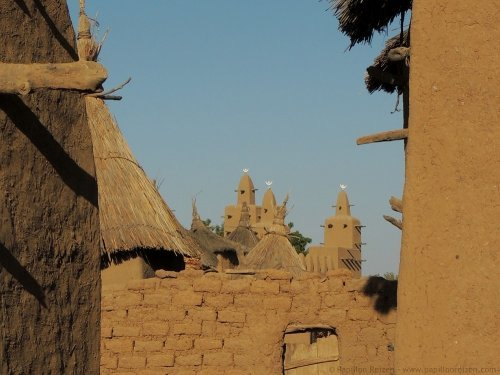 Mali Dogon country village
