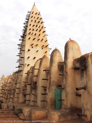 3 - Sudanese style mosque in Bobo Dioulasso