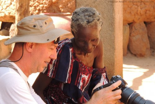 4 - Interacting with the locals in Burkina Faso